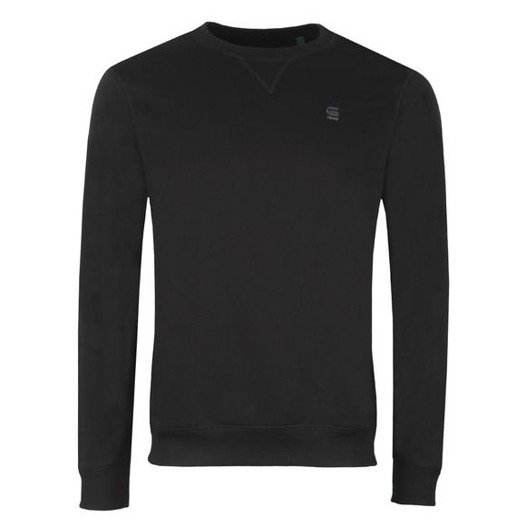 G-Star Mens Black Core Sweatshirt main image