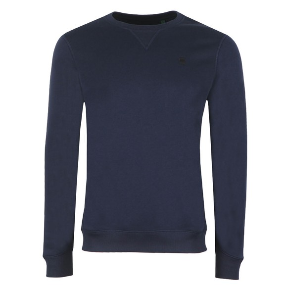 G-Star Mens Blue Core Sweatshirt