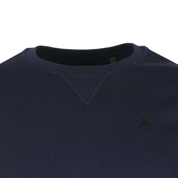 G-Star Mens Blue Core Sweatshirt