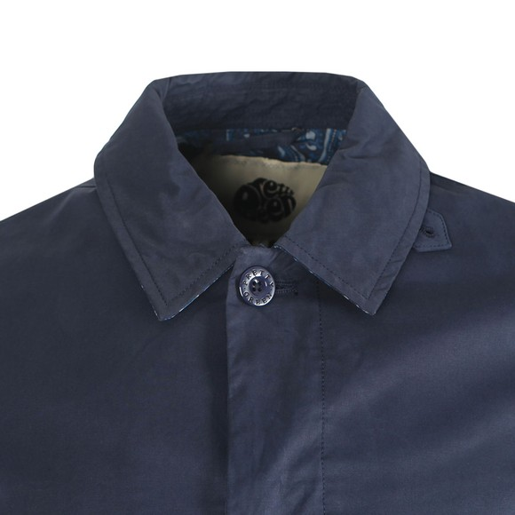 Pretty Green Mens Blue Button Up Mac main image