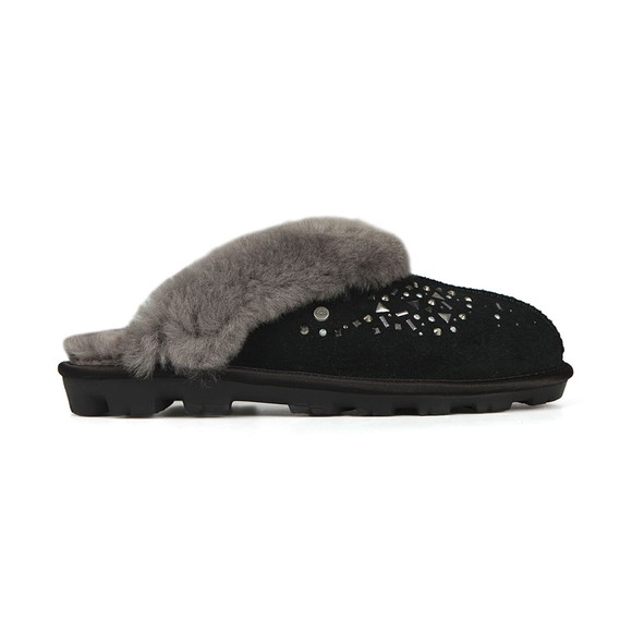 Ugg Womens Black Coquette Galaxy Slipper