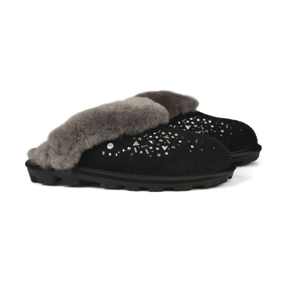 Ugg Womens Black Coquette Galaxy Slipper main image