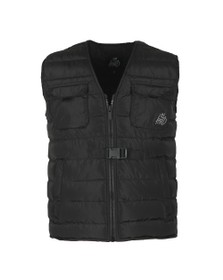Kings Will Dream Mens Black Mordono Gilet