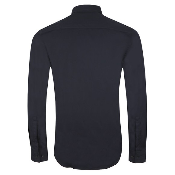 HUGO Mens Blue Emero Long Sleeve Shirt main image