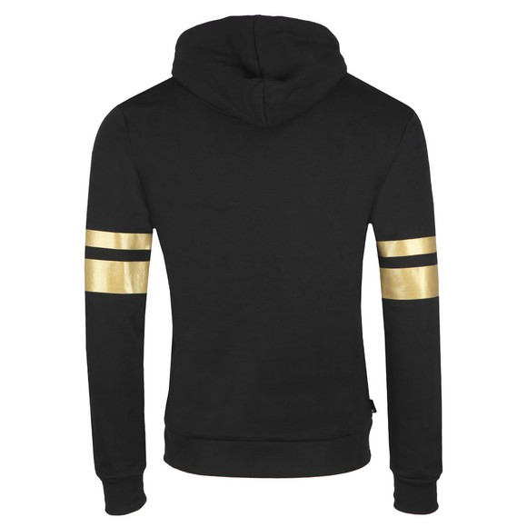 Eleven Degrees Mens Black Double Stripe Hoodie main image