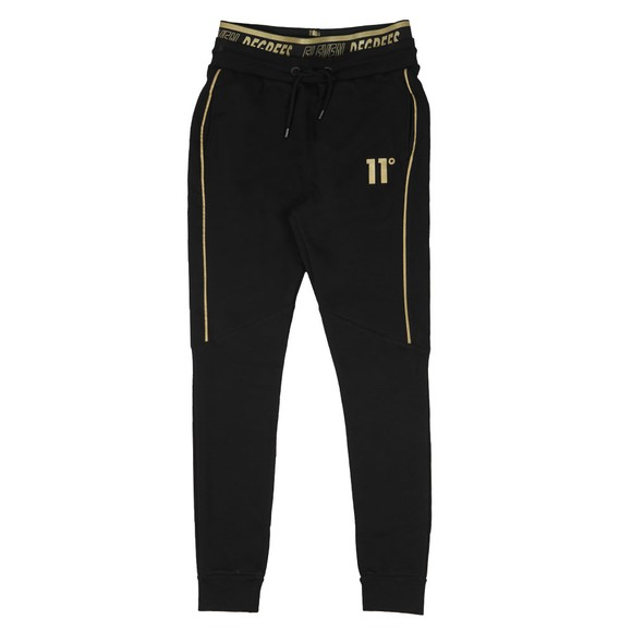 Eleven Degrees Mens Black Double Waistband Sweatpant main image