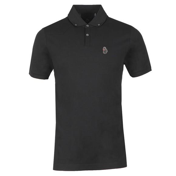 Luke 1977 Mens Black New Bil Polo Shirt main image