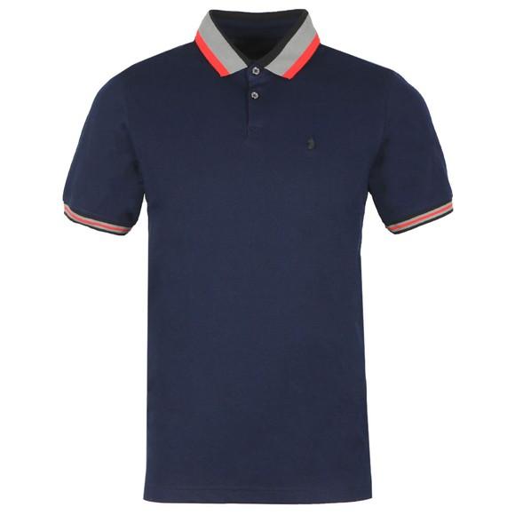 Luke 1977 Mens Blue Pewterville Polo Shirt main image