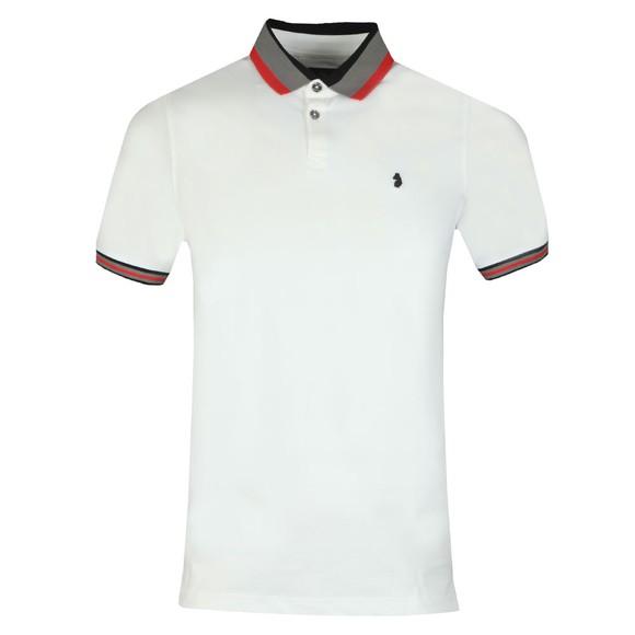 Luke 1977 Mens White Pewterville Polo Shirt