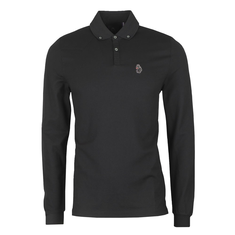 Long New Bill LS Lion Embroidery Polo main image
