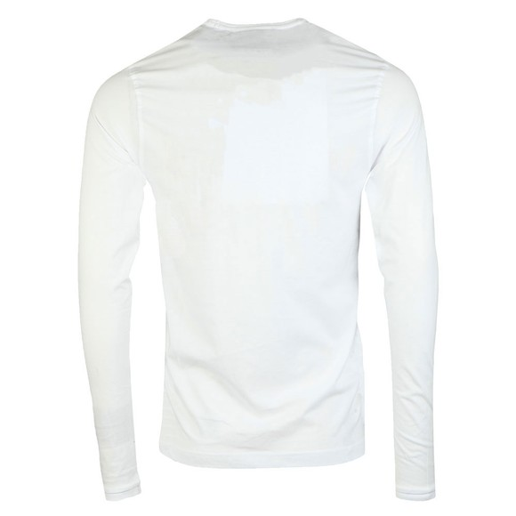 Luke Sport Mens White Long Traff LS T-Shirt main image