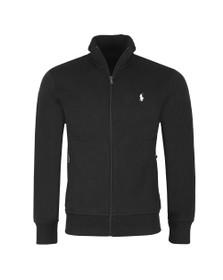 Polo Ralph Lauren Mens Black Full Zip Nylon Sweatshirt