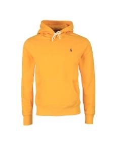 Polo Ralph Lauren Mens Yellow Overhead Fleece Hoody