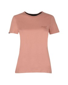 Superdry Womens Pink OL Elite Crew Neck T Shirt