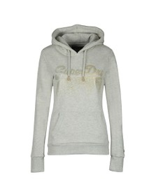 Superdry Womens Off-White Metal Cascade Entry Hoody