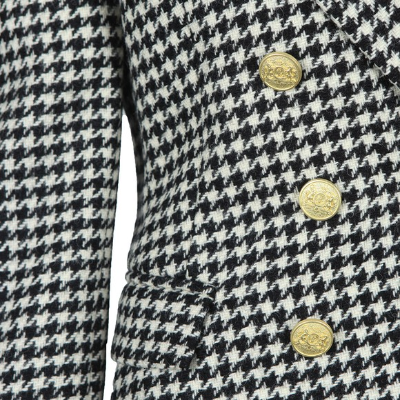 Holland Cooper Womens Houndstooth Knightsbridge Blazer main image