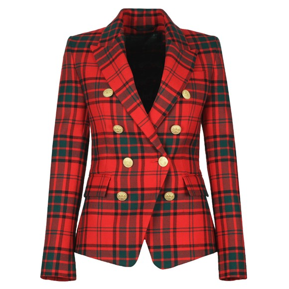 Holland Cooper Womens Red Knightsbridge Blazer main image