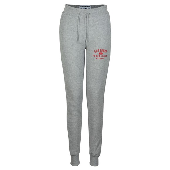 Superdry Womens Grey Track & Field Jogger