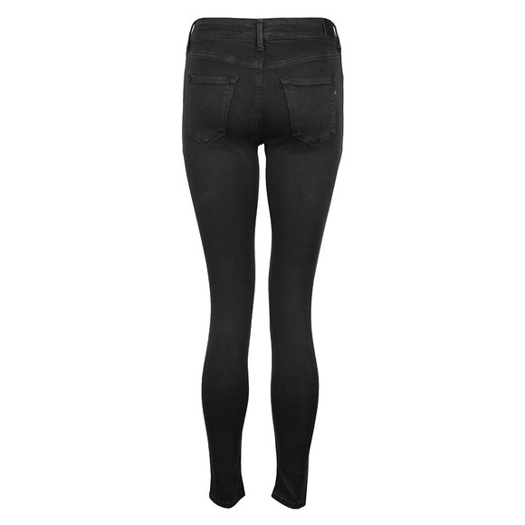 Replay Womens Black Hyperflex Colour Edition Jean