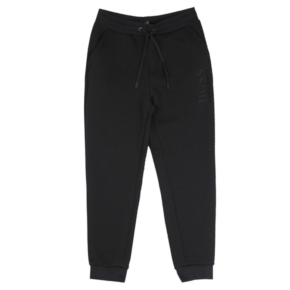 BOSS Bodywear Mens Black Contemporary Joggers main image