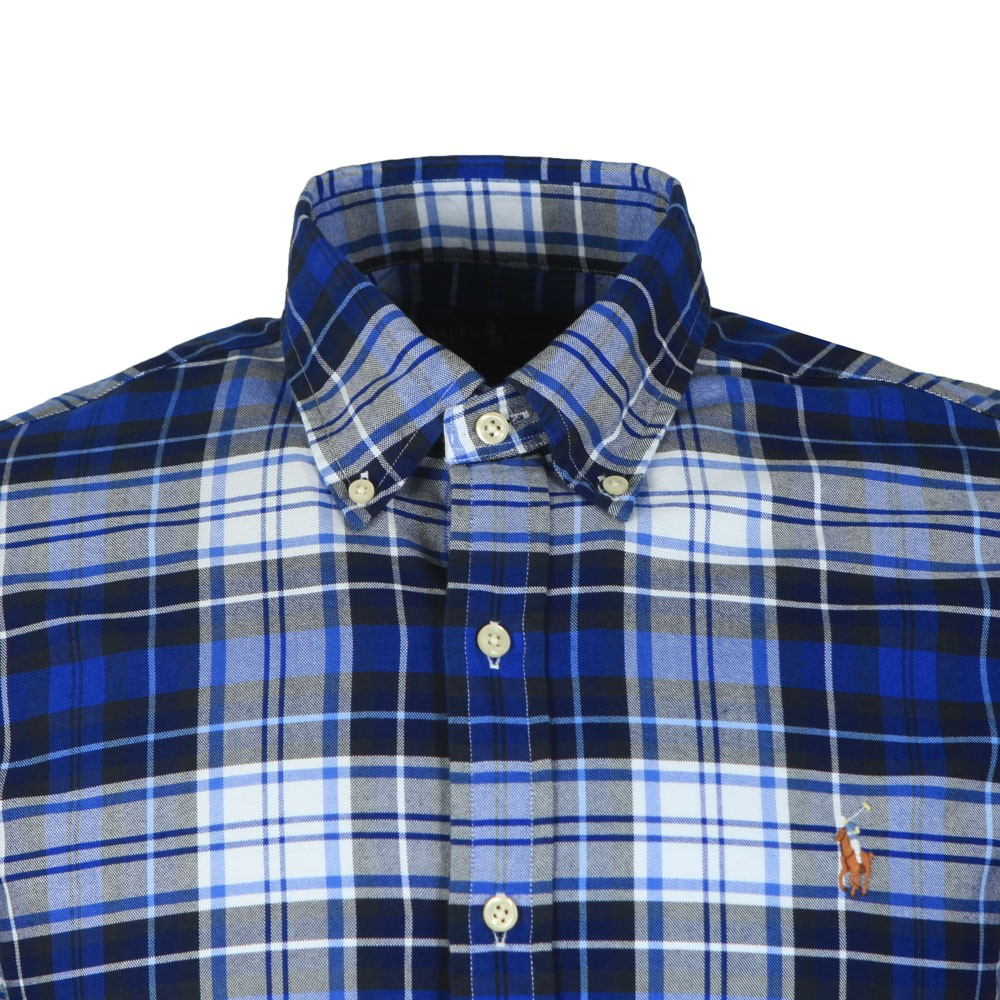 Slim Fit Check Flannel Shirt main image