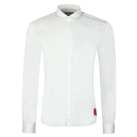 HUGO Mens White Ero 3 Extra Slim Shirt