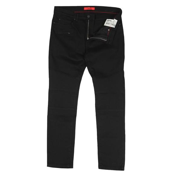 HUGO Mens Black 734 Skinny Jean