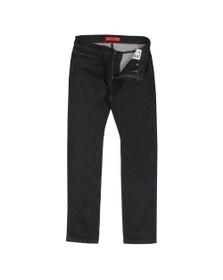 HUGO Mens Black Hugo Skinny Fit Jean