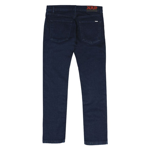 HUGO Mens Blue Hugo Skinny Fit Jean main image