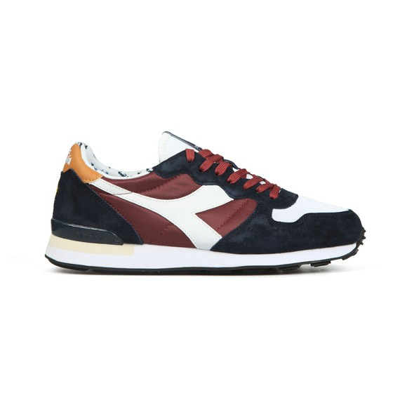 Lyle & Scott x diadora Mens Purple Camaro Trainer main image
