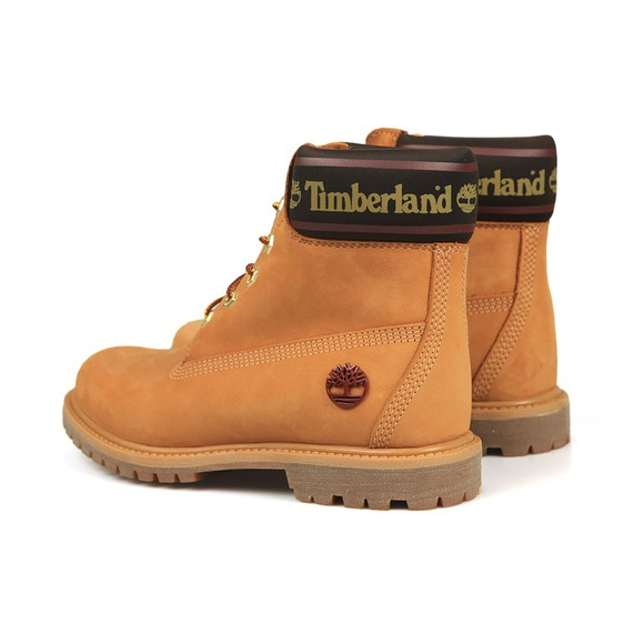 Timberland Womens Beige 6 Inch Logo Collar Boot main image