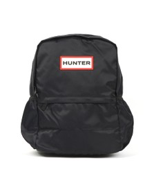 Hunter Unisex Black Original Nylon BackPack