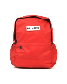 Hunter Unisex Red Original Nylon BackPack
