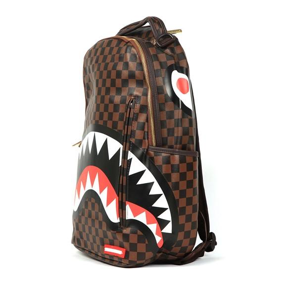 Sprayground Mens Brown Sharks In Paris Backpack