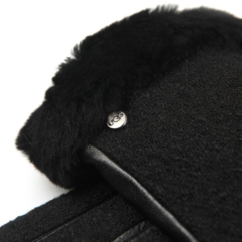 Fabric Leather Shorty Glove main image
