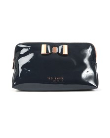 Ted Baker Womens Blue Vanitee Bow Detail Washbag