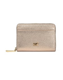 Michael Kors Womens Pink Mott Coin Card Purse