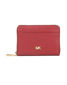 Michael Kors Womens Purple Mott Coin Card Purse