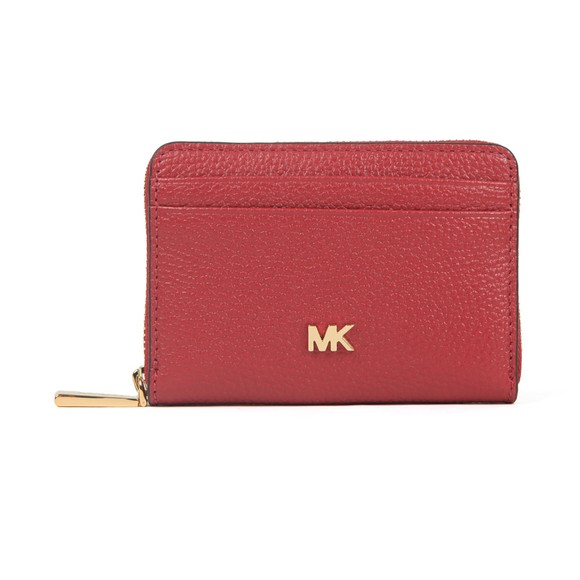 Michael Kors Womens Purple Mott Coin Card Purse main image