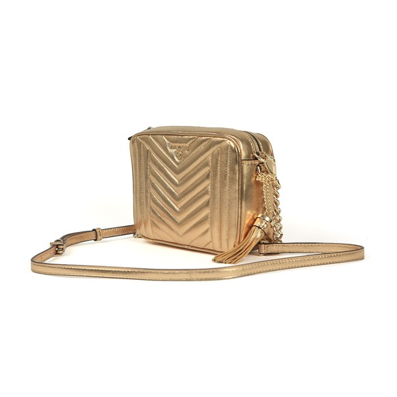 Michael Kors Womens Gold Jet Set Charm Crossbody main image