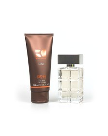 BOSS Mens Beige Orange Discovery Box