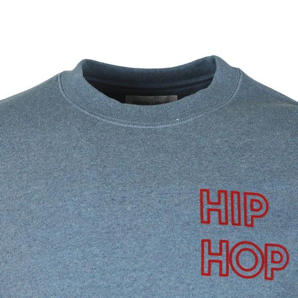 Maison Labiche Mens Blue Hip Hop Sweatshirt main image