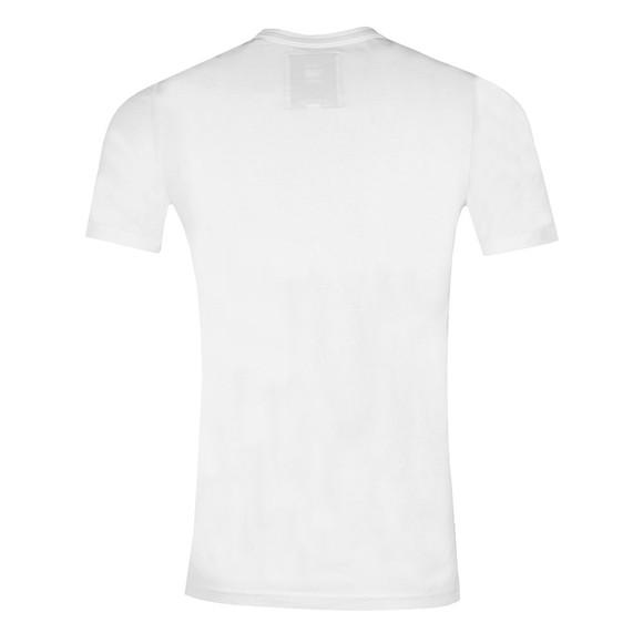 G-Star Mens White Graphic T-Shirt main image