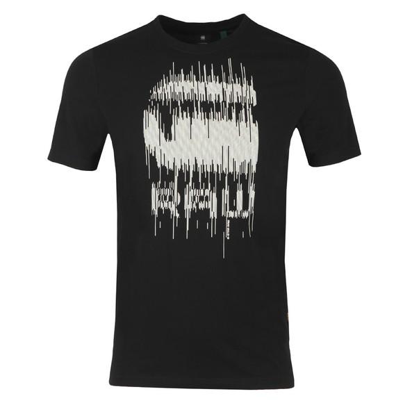 G-Star Mens Black Graphic 6 T-Shirt main image
