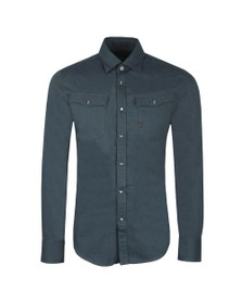 G-Star Mens Blue 3301 Slim Shirt