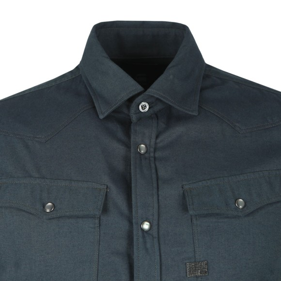 G-Star Mens Blue 3301 Slim Shirt main image