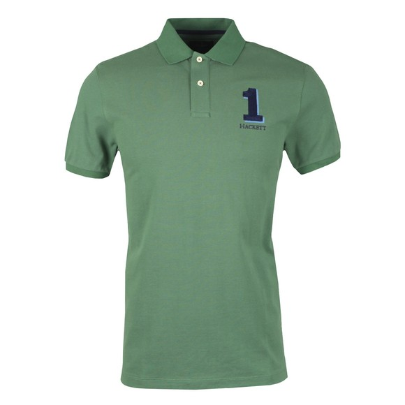Hackett Mens Green New Classic Polo Shirt