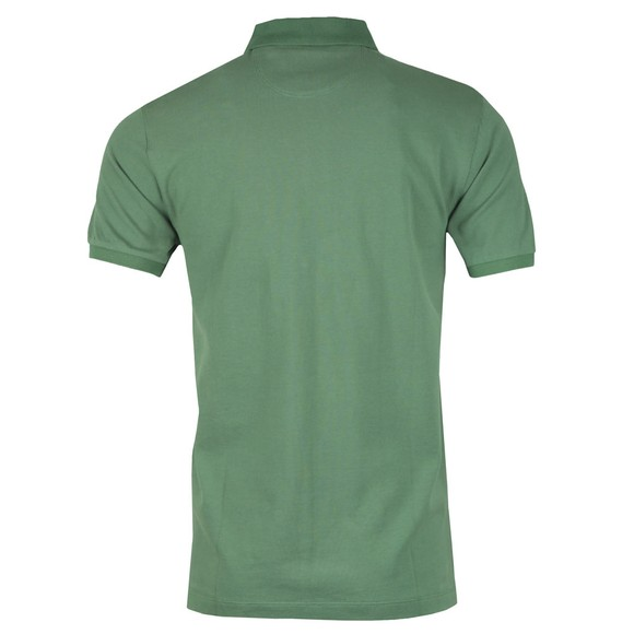 Hackett Mens Green New Classic Polo Shirt main image