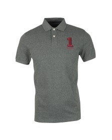Hackett Mens Grey New Classic Polo Shirt