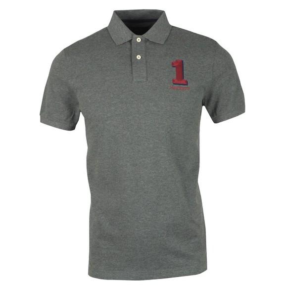 Hackett Mens Grey New Classic Polo Shirt
